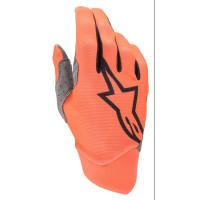 Alpinestars DUNE cross gloves Orange Fluo