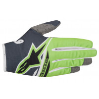 Alpinestars cross gloves Radar Flight anthracite green fluo