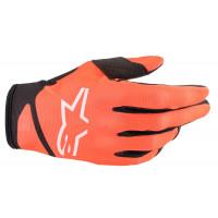 Alpinestars RADAR NV cross gloves Orange Black