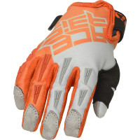 Acerbis CE MX X-KID cross child gloves Orange Grey