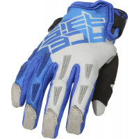 Acerbis CE MX X-KID cross child gloves Blue Grey