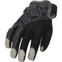 Acerbis CE MX X-KID cross child gloves Grey Black