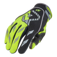 Acerbis MX Kid child cross gloves fluo yellow black