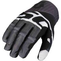 SCOTT 450 Track cross gloves black white