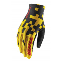 Thor Void Bits off-road gloves yellow black