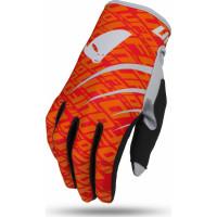 Ufo Plast INDIUM gross gloves Fluo Red