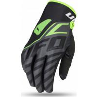 Ufo Plast VANADIUM cross gloves Black Fluo Green