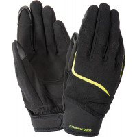 Tucano Urbano MIKY KID summer kid gloves Black Fluo Yellow Graphic