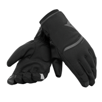 Dainese Plaza 2 D-Dry Motorcycle Gloves Black