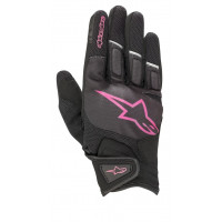 Alpinestars STELLA ATOM lady summer gloves black fuchsia