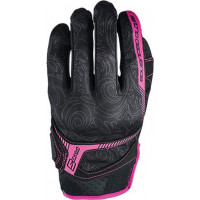 Five RS3 woman summer gloves Black Pink