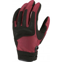 Macna Darko woman summer gloves Bordeaux Black