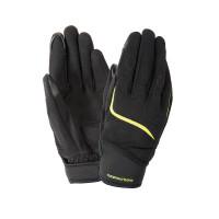Tucano Urbano LADY MIKY eoman summer gloves Black Yellow Fluo