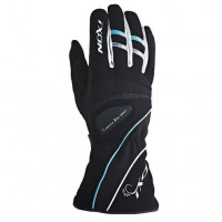 Ixon Pro Donna HP Winter motorcycle Gloves Black White Turquoise