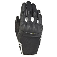 Ixon RS GRIP 2 LADY woman summer leather and tex glovesBlack White