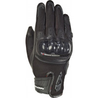 Ixon RS RISE AIR woman summer leather and tex gloves Black