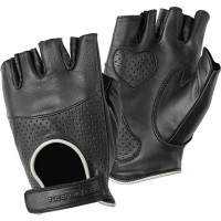 Tucano Urbano Sberla woman leather summer gloves Black