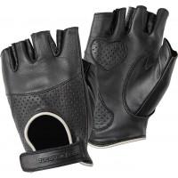 Tucano Urbano Sberla woman leather summer gloves Black