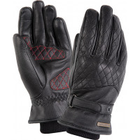 Tucano Urbano SYLVIA 2G woman leather winter gloves Black