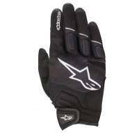 Alpinestars ATOM summer gloves black whte