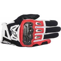 Alpinestars SMX-2 AIR CARBON V2 gloves black red white
