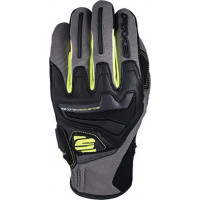 Five RS4 summer gloves Grey Fluo Yellow