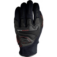 Five RS4 gloves Black