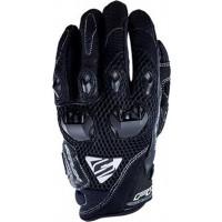 Five Stunt Evo Airflow summer gloves Black