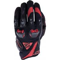 Five Stunt Evo summer gloves  Black Red