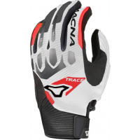 Macna Trace summer gloves White Red Black
