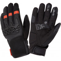 Tucano Urbano Dogon summer gloves black orange