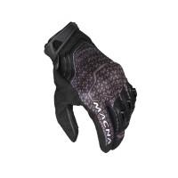 Macna leather summer gloves Assault black