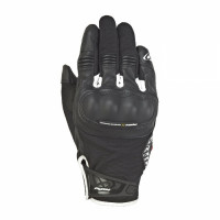 Ixon RS GRIP 2 leather and tex summer gloves Black White