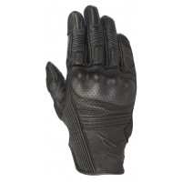 Alpinestars MUSTANG V2 leather summer gloves black black