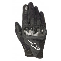 Alpinestars SMX-1 AIR V2 leather summer gloves black