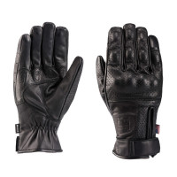 Blauer COMBO leather summer gloves Black