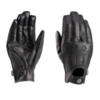 Blauer ROUTINE leather summer gloves Black