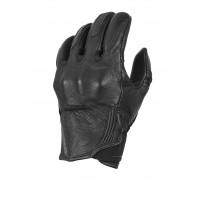 Macna leather summer gloves Rocky black