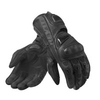 Rev'it Jerez 3 leather summer leather gloves Black