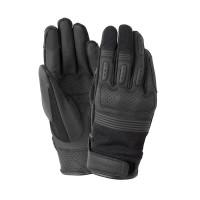 Tucano Urbano ANDREW leather summer gloves Black
