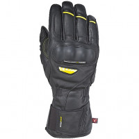 Ixon Pro Continental leather and gloves black yellow