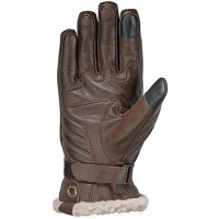 Ixon Pro Custom waterproof leather gloves brown