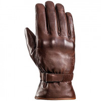 Ixon PRO NODD winter leather gloves brown