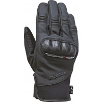 Ixon RS ARENA leather motorcycle gloves black carbon