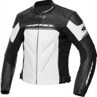 Spyke IMOLA EVO 2.0 leather jacket Black White Ant