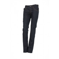 Esquad woman jeans Silva with kevlar insert blue
