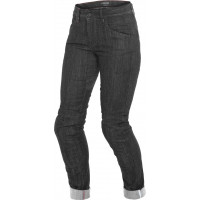 Dainese ALBA SLIM LADY woman jeans Black Rinsed