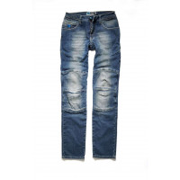 PMJ Florida woman motorcycle jeans Mid Blue