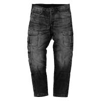 Motto Italia Cargo jeans with aramidic fiber Black