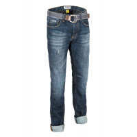 PMJ Legend motorcycle Jeans Blue